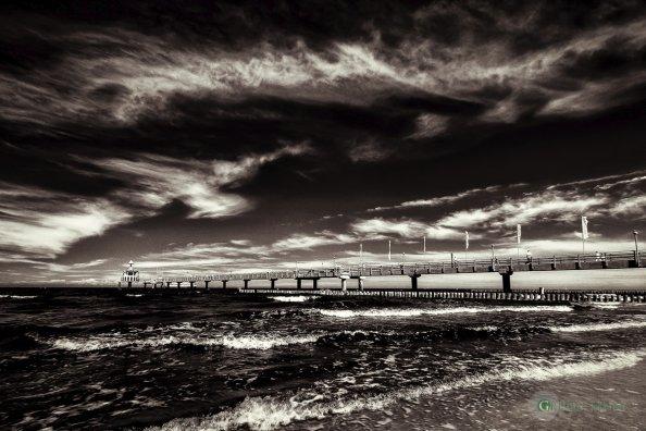 Seebrücke (Zingst) - Infrarot