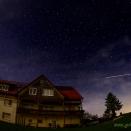 Der Sonnenhof bei Nacht
